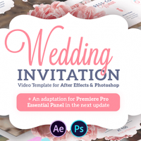 VIDEOHIVE WEDDING INVITATION