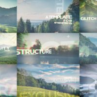 VIDEOHIVE GLITCH PARALLAX VIDEO OPENER