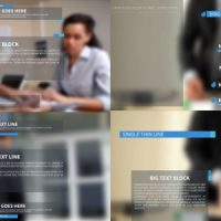 VIDEOHIVE CLEAN CORPORATE LOWER THIRDS AND TITLES