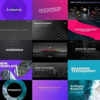 VIDEOHIVE TYPOGRAPHY SLIDES – PREMIERE PRO