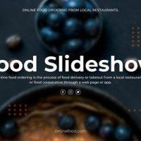 VIDEOHIVE FOOD SLIDESHOW – PREMIERE PRO