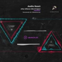 VIDEOHIVE AUDIO REACT MUSIC VISUALIZER