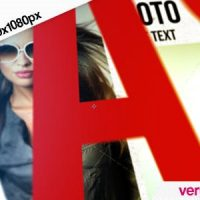 VIDEOHIVE PHOTO GALLERY AND KINETIC TYPOGRAPHY