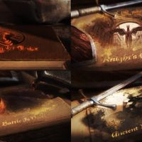 VIDEOHIVE ANCIENT BATTLE BOOK