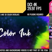 VIDEOHIVE COLOR INK TRANSITIONS