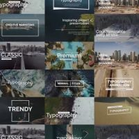 VIDEOHIVE ESSENTIAL TITLES V.1 – PREMIERE PRO