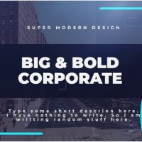 VIDEOHIVE BIG & BOLD CORPORATE – PREMIERE PRO