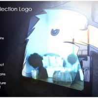 VIDEOHIVE METALLIC REFLECTION LOGO