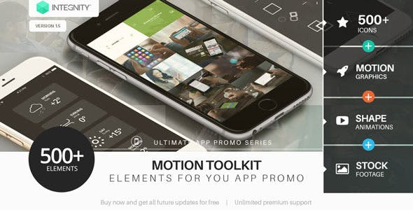 VIDEOHIVE ULTIMATE APP PROMO TOOLKIT - Free After Effects