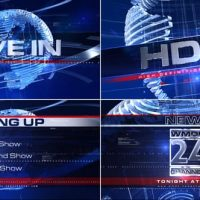 VIDEOHIVE BROADCAST DESIGN – COMPLETE NEWS PACKAGE 1