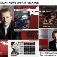 Broadcast Design – News On-Air Package