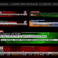 VIDEOHIVE BROADCAST DESIGN – NEWS LOWER THIRD PACKAGE 2
