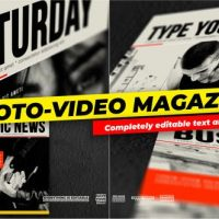 VIDEOHIVE PHOTO AND VIDEO – MAGAZINE COVER