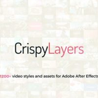 VIDEOHIVE CRISPYLAYERS 1.0 GRAPHICS PACK – 1200+ VIDEO PRESETS AND ASSETS