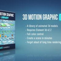 VIDEOHIVE 3D MOTION GRAPHIC LIBRARY
