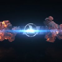 VIDEOHIVE SHORT EXPLOSION LOGO