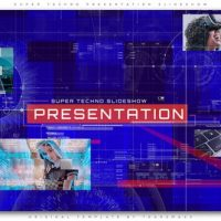 VIDEOHIVE SUPER TECHNO PRESENTATION SLIDESHOW