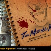 VIDEOHIVE THE MORGUE NOTES OPENER