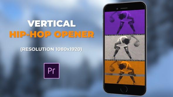 VIDEOHIVE VERTICAL HIP-HOP OPENER - PREMIERE PRO - Free
