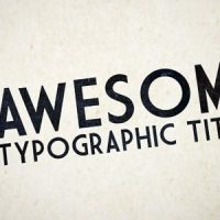 VIDEOHIVE HD KINETIC TYPOGRAPHY