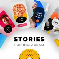 VIDEOHIVE INSTAGRAM STORIES PACK NO. 1 – PREMIERE PRO