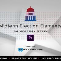 VIDEOHIVE MIDTERM ELECTION ELEMENTS – HOUSE & SENATE | MOGRT FOR PREMIERE PRO