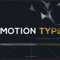 VIDEOHIVE MOTION TYPE TEXT