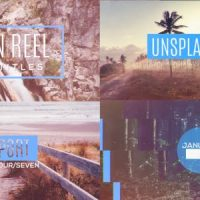 VIDEOHIVE PHOTO REEL WITH TITLES
