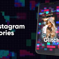 INSTAGRAM STORIES: GLITCH (MOTION ARRAY)