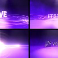 VIDEOHIVE LOGO LIGHTS