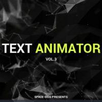 VIDEOHIVE TEXT ANIMATOR VOL.3