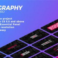VIDEOHIVE TYPOGRAPHY 21627117 – PREMIERE PRO