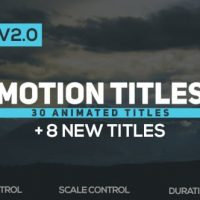 VIDEOHIVE MOTION TITLES V2 18721403