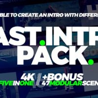 VIDEOHIVE FAST INTRO PACK 5IN1