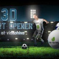 VIDEOHIVE SOCCER NIGHT – 3D SPORT OPENER