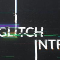 VIDEOHIVE GEOMETRIC GLITCH LOGO REVEAL