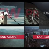 VIDEOHIVE FAST TYPOGRAPHY PROMO 4K