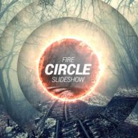 VIDEOHIVE FIRE CIRCLE SLIDESHOW