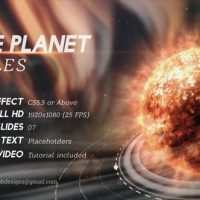 VIDEOHIVE THE PLANET TITLES