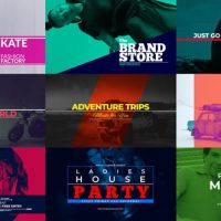 VIDEOHIVE TYPOPENER – MODERN TITLES