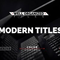 VIDEOHIVE MODERN TITLES 16271116