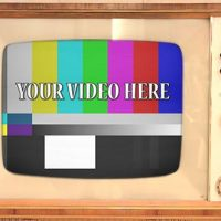 VIDEOHIVE RETRO TV WITH ALPHA CHANNEL – MOTION GRAPHICS