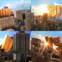 VIDEOHIVE EPIC GOLDEN TITLE IN CITY