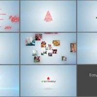 VIDEOHIVE TYPO & VIDEO CHRISTMAS LOGO INTRO