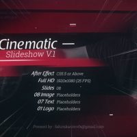 VIDEOHIVE CINEMATIC SLIDESHOW V.1