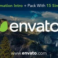 VIDEOHIVE TITLES ANIMATION INTRO AND PACK WITH 15 SIMPLE TITLES