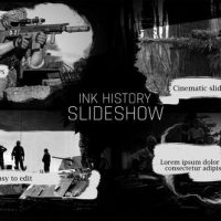 VIDEOHIVE INK HISTORY SLIDESHOW