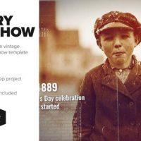 VIDEOHIVE BURNED HISTORY FRAMES SLIDESHOW