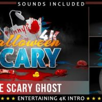 VIDEOHIVE FUNNY SCARY GHOST LOGO INTRO