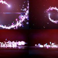 VIDEOHIVE PARTICLES LOGO 10526454